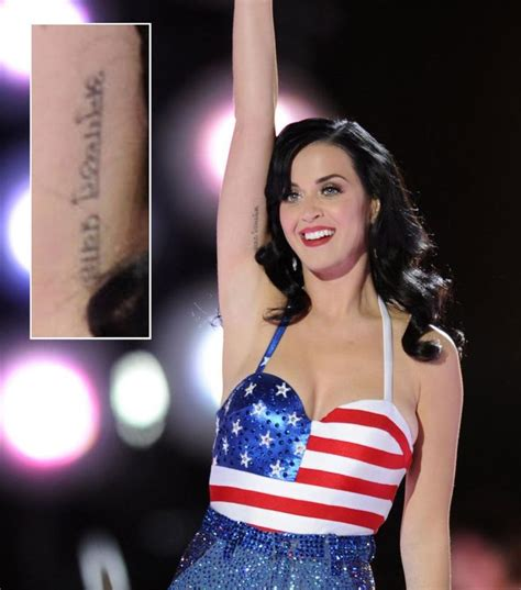 katy perry pin up tattoo celebrity tattoos and the stories behind them
