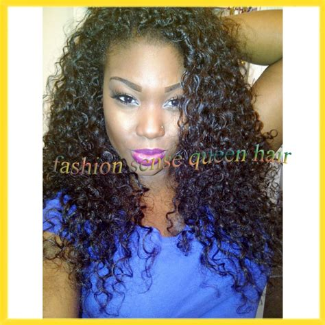 black curly kinky sew in free shipping black kinky curly u part wig sew in hair u