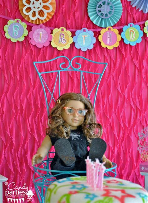 american girl birthday party ideas photo    catch  party