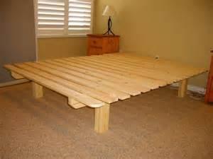 Easy Diy Wood Bed Frame Diy Pallet Bed Frame Diy Beds Futons And