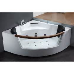 ariel bath 59 quot x 59 quot whirlpool tub reviews wayfair