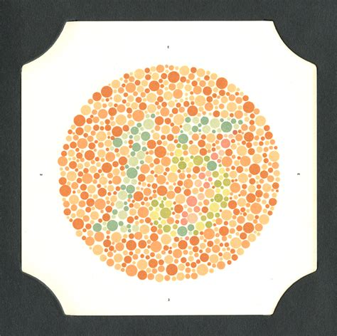 Color Blind Picture Test Tests For Colour Blindness