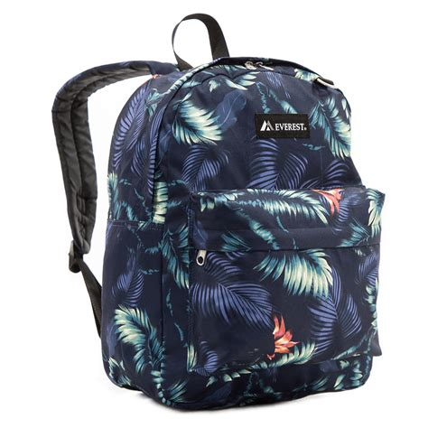 Printed Backpack pattern printed backpack everest bag