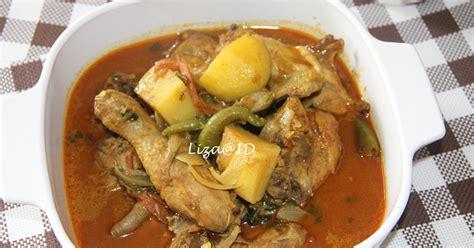 Ram Ayam intai dapur ayam masak kari beriani