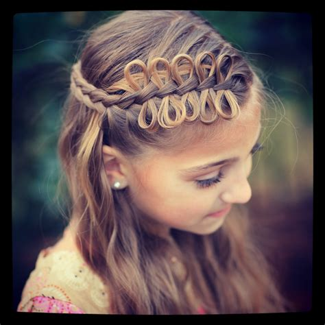 cute girl hairstyles youtube bow bow braids cute girls hairstyles