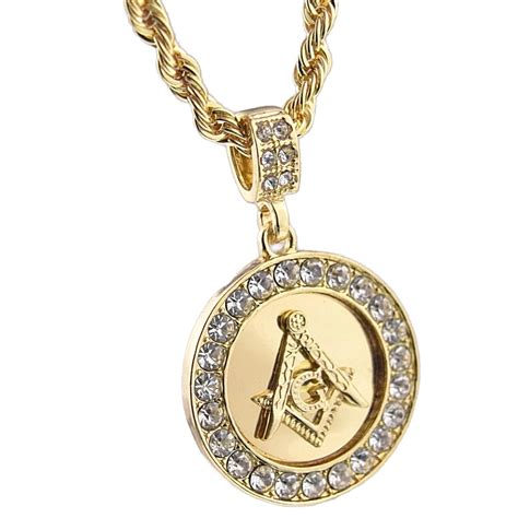 masonic pendant 24 quot rope chain chains