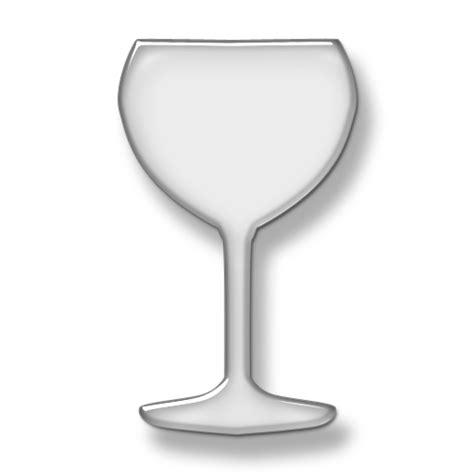 transparent glass wine glass icon 055524 187 icons etc