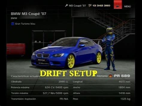Garage 2 Voitures 3539 by Gran Turismo 6 Drift Setup Bmw M3 Coupe 180 07