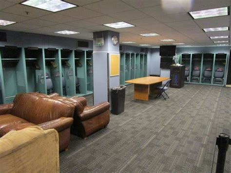 Locker Room Ma by The Green Picture Of Fenway Park Boston