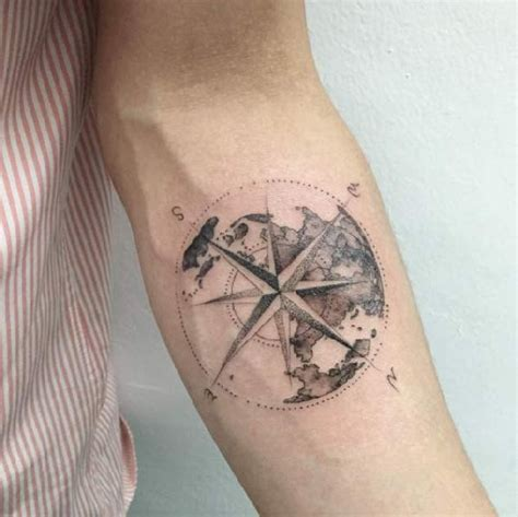 compass virgo tattoo 40 wundervolle kompass tattoos tattoo spirit