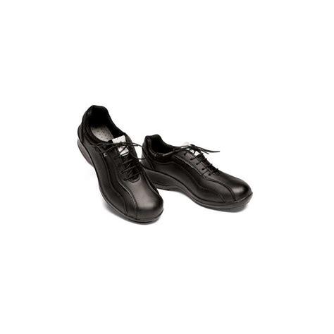scarpe per cameriere scarpa da lavoro nera donna con lacci per cameriere