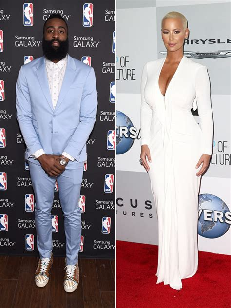video amber rose dating james harden hints  sexy
