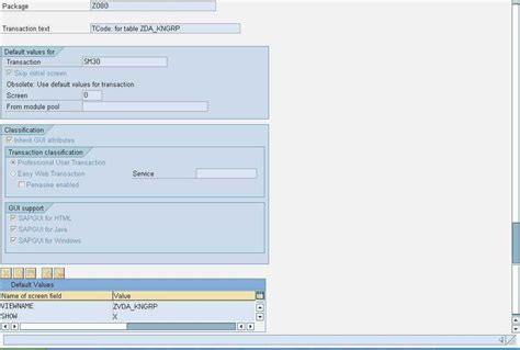 abap tutorial sap help assign a t code to maintenance view in sap abap tutorials