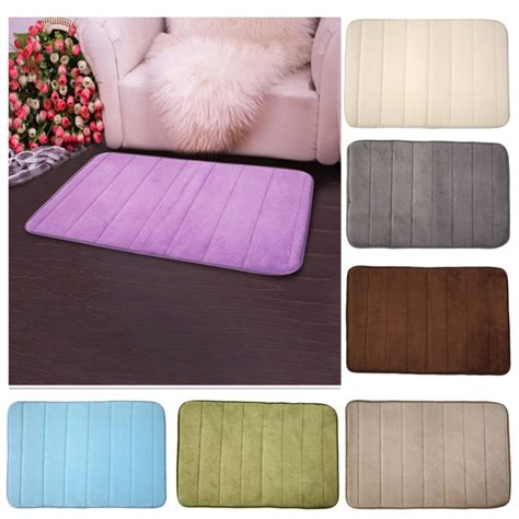 memory foam bathroom rugs sale memory foam bath mats bathroom horizontal stripes rug non slip home bedroom carpet mat