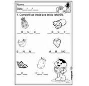 A Arte De Educar Atividades Com Vogais