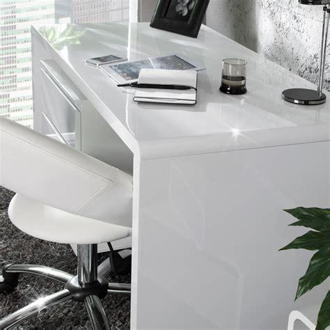 Schreibtisch Weiß Hochglanz 120 Cm by Design Schreibtisch Quot Helsinki 120 Quot Hochglanz Weiss 120 Cm