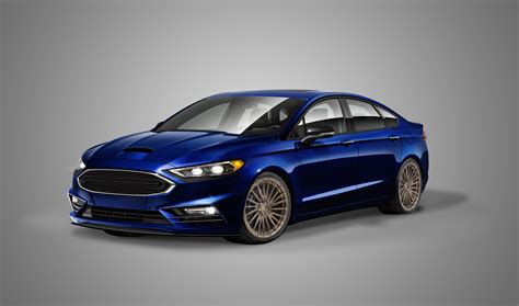 Ford Fusion Se Sport by 2017 Fusion Sport To Join Modified Ford Fleet At Sema