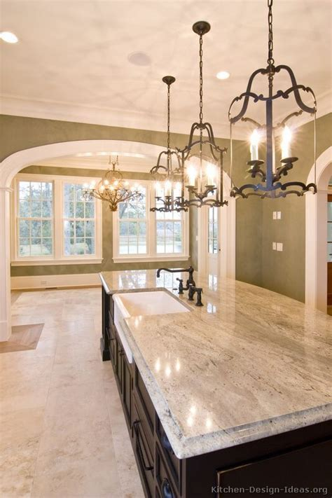 wrought iron kitchen island kitchen idea of the day traditional black kitchens
