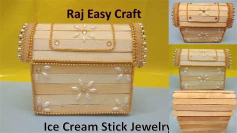 Box Stik how to make stick jewelry box popsicle stick crafts diy