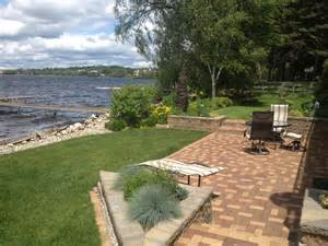 Lakefront patio and landscaping patio ideas pinterest