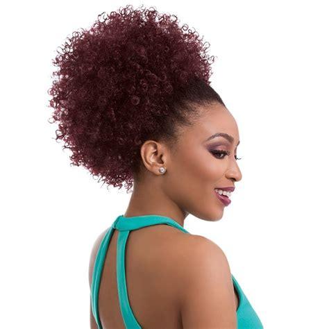 afro hair buns for sale sensationnel instant pony drawstring ponytail natural