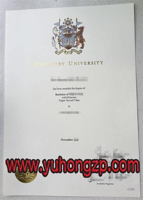 Coventry Mba Entry Requirements by Coventry Degree Buy Diploma And