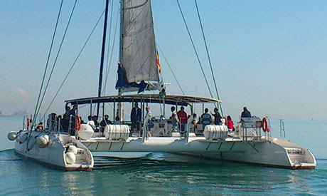 excursion en catamaran valencia valencia spain sunset catamaran cruise 27