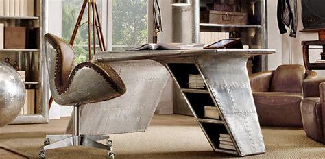 Restoration Hardware Airplane Desk by Casa Di I With Restoration
