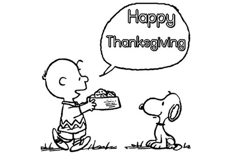 snoopy thanksgiving coloring page charlie brown thanksgiving coloring page