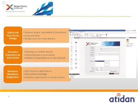 design nintex form nintex forms for office 365 from atidan