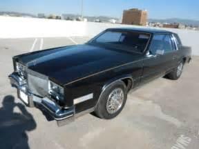 1985 Cadillac Eldorado Parts 1985 Cadillac Eldorado Restoration Project Or Parts No
