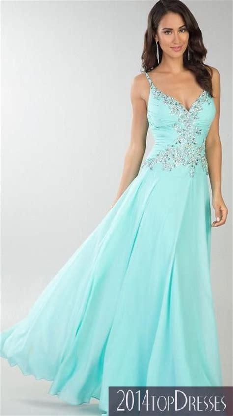 light blue spaghetti strap prom dress dresses formal prom dresses evening wear floor length