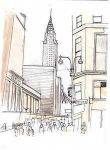 New Drawing New York Drawings Visual Munch
