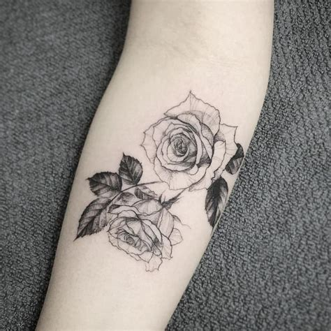 tattoos of white roses best 25 white tattoos ideas on black and