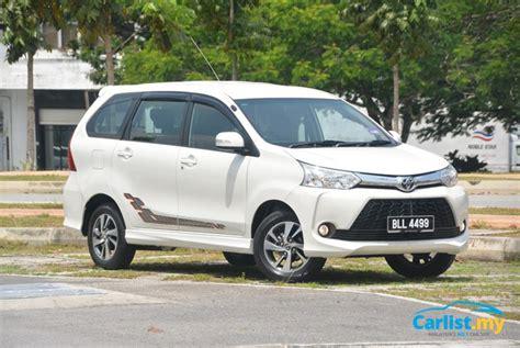 Toyota Auto Malaysia Career Review 2015 Toyota Avanza New Engine Familiar Basics