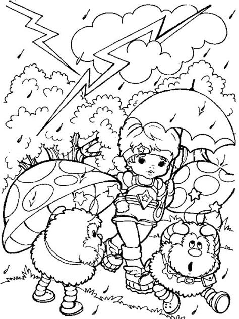 rainbow umbrella coloring page 171 funnycrafts 1000 images about раскраски on pinterest coloring