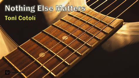 nothing else matter acoustic nothing else matters metallica instrumental acoustic