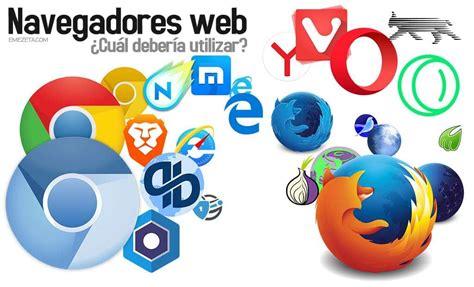 imagenes de navegadores web navegadores web 191 cu 225 l es el mejor navegador para mi