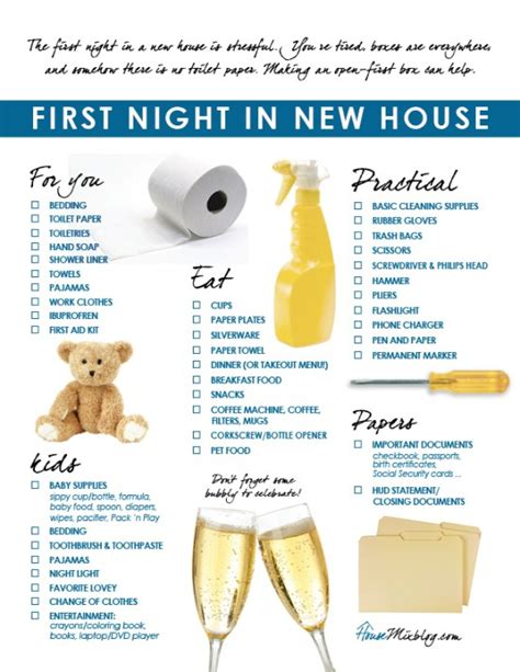 things to buy for first home checklist first things to do when moving into a new home checklist