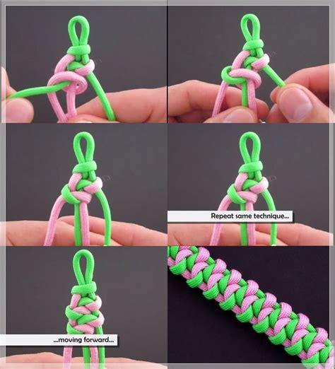 gambar dan cara membuat gelang dari tali sepatu kreasi gelang sederhana cara membuat gelang macrame