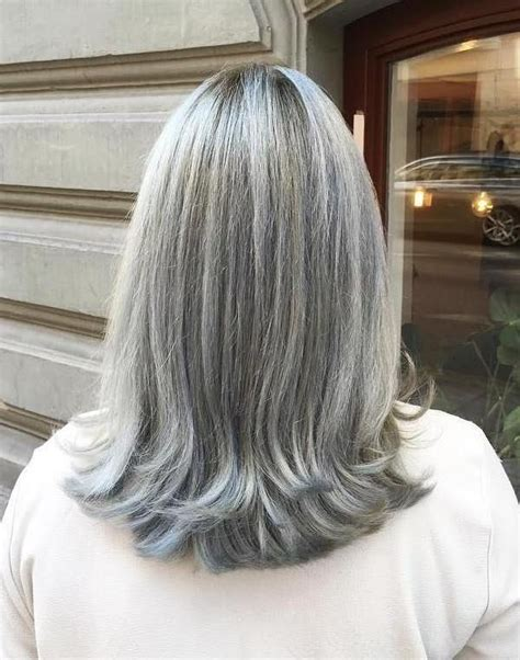 the 25 best gray hairstyles ideas on pinterest grey 15 inspirations of long hairstyles for gray hair