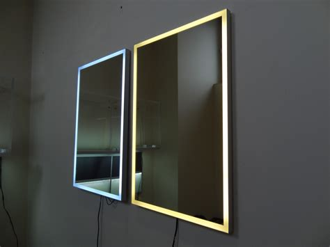 mirror light mirror with led lighting 171 aluminum cabinet doors