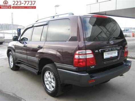 2006 Toyota Land Cruiser 2006 Toyota Land Cruiser For Sale 4700cc Gasoline