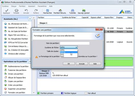 format fat32 portable comment formater un disque dur pour ordinateur portable