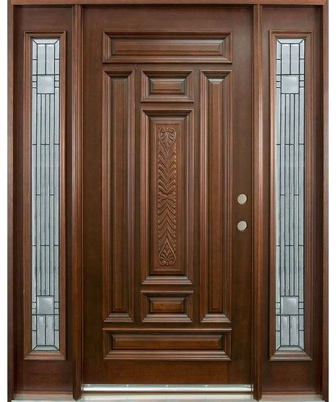 wood front door 25 best ideas about wooden door design on