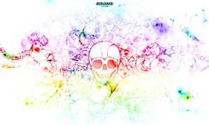 inverted color wallpaper color skull inverted graffiti abstract background