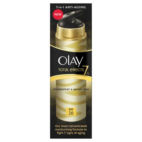 Olay Total Effects Daily Serum olay total effects 2 in 1 moisture serum 40ml health thehut