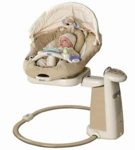 graco sweetpeace swing reviews graco sweet peace swing review