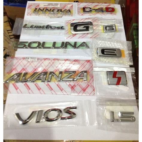 Emblem G Vios Dll emblem logo new raya motor