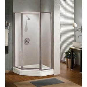 38 neo angle shower door maax 137901 silhouette 70 x 38 neo angle pivot shower door